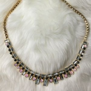 *NWT* Kate Spade gold necklace with stones